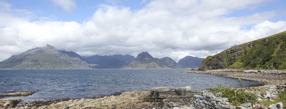 Elgol and the Black Cuillin Hills